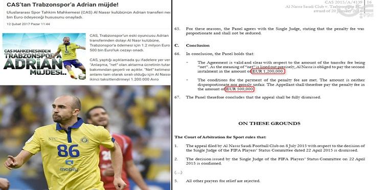 نادٍ تركي يطالب النصر السعودي بـ1.7 مليون يورو