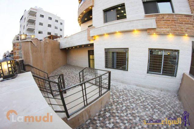 شقة أرضية 131 متر مع حديقة ومدخل وكراج خاص من المالك مباشرة