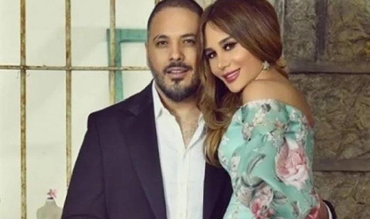 """رامي عياش يشكر الفريق الطبي الذي اهتم بزوجته وقت اصابتها بانفجار بيروت """"صورة"""""""