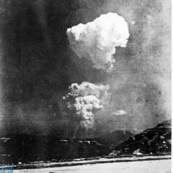 """اكتشاف الصورة اليابانية الوحيدة لانفجار القنبلة الذرية في """"هيروشيما"""" ..  صور"""