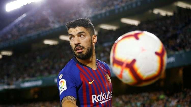 برشلونة يعلن رسميا عن فترة غياب نجمه سواريز