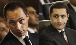 براءة نجلي مبارك بقضية التلاعب في البورصة