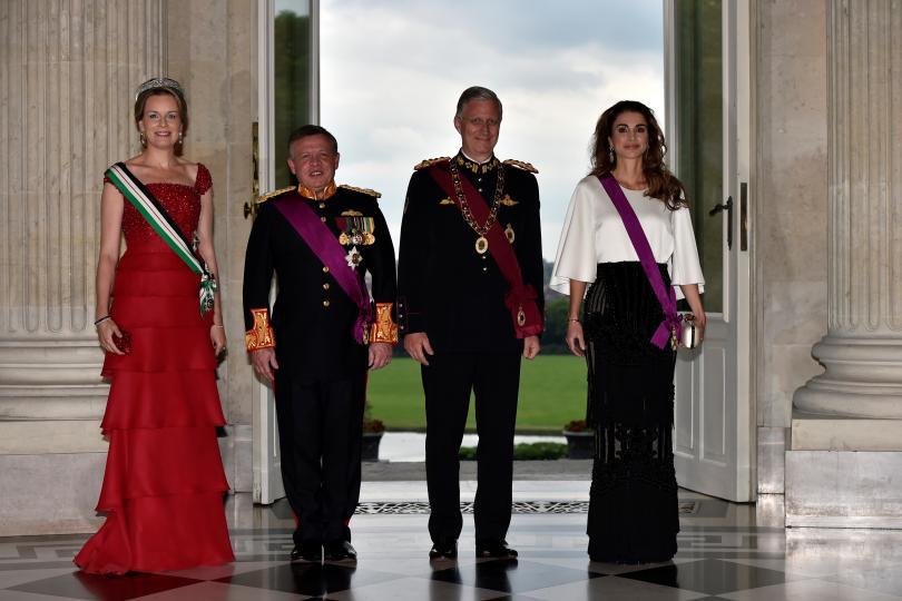 صدور الارادة الملكية بالموافقة على حمل 18 شخصية اردنية لأوسمة بلجيكية  ..  اسماء