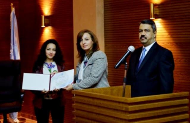 قسم التصميم الداخلي بجامعة عمان الاهلية  يحتفل بطلبته المستجدين