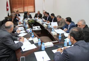 اجتماع الهيئة الإدارية للاتحاد الرياضي للجامعات الأردنية