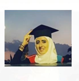 هبة الخالدي  .. مبارك التخرج
