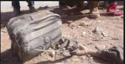 """ارتفاع عدد حصيلة مجزرة """"مدارس حاس"""" في ادلب الى 35 قتيلاً معظمهم من الاطفال"""