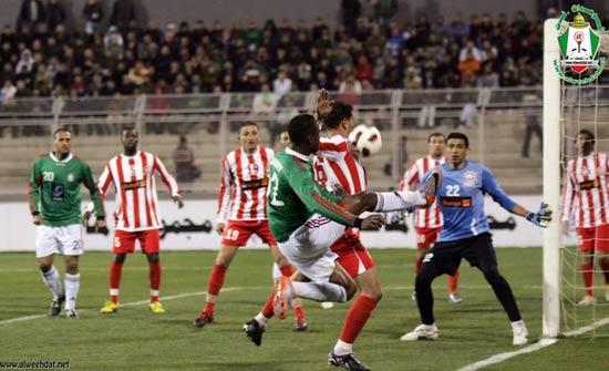حكم مصري يقود مباراة شباب الأردن عربياَ