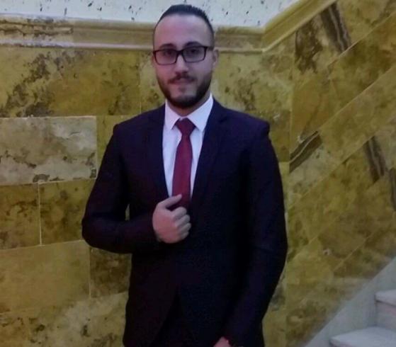"""من أحمد القيسي للنسيب العزيز """"محمود جمال الناطور"""" ألف مبارك عقد قرانك"""