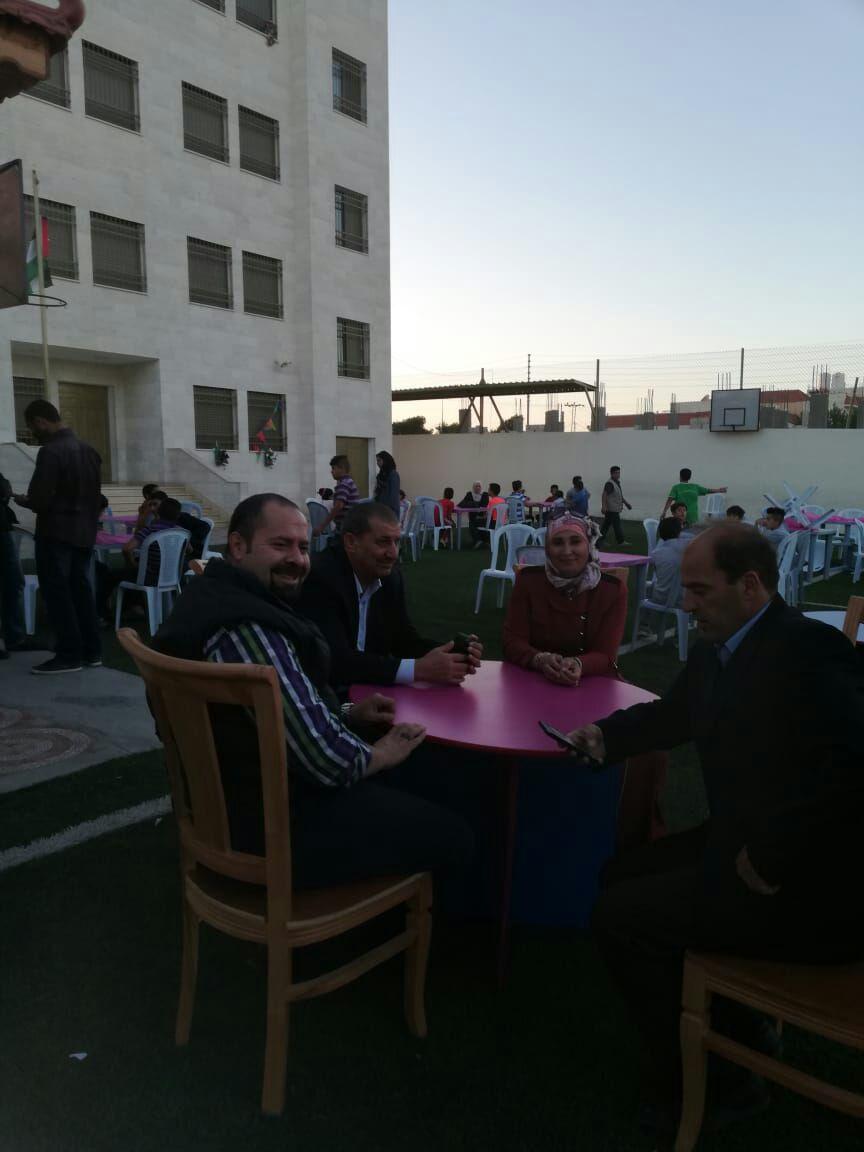 بالصور  ..  جمعية نور السماء تقيم افطاراً خيرياً للايتام