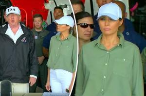بالفيديو.. من جديد: ترامب يضع زوجته ميلانيا في موقف محرج