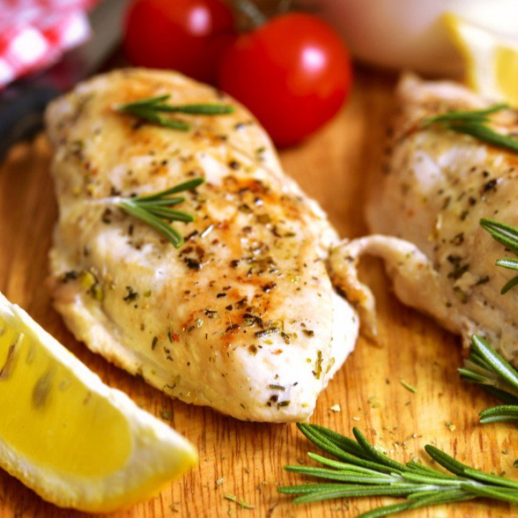 دجاج مشوي بالثوم