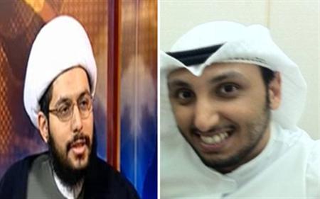 كويتي يضرب أحد رموز الشيعة لشتمه الصحابة