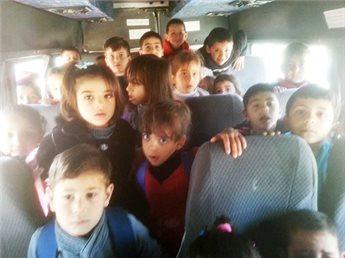 بيت لحم : ضبط باص روضة بحمولة زائده ب38 طفلا