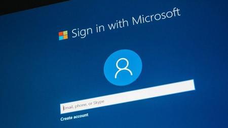 خطوات التسجيل في حساب مايكروسوفت بدون كلمة مرور