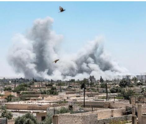 فصائل المعارضة المسلحة في جنوب سوريا تجتمع في عمان لتثبيت وقف اطلاق النار