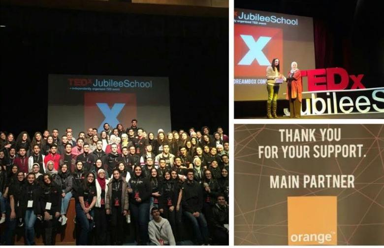 "Orange الأردن راعي الاتصالات الحصري لـ TEDx عمّان في ""اليوبيل"""