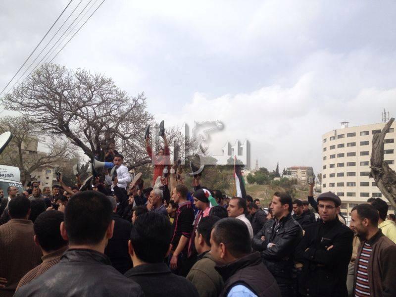"""الإخوان المسلمين تستنكر """"قمع"""" إعتصام الدقامسة"""