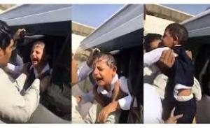 بالفيديو ..  شاهد لحظة العثور على طفل تم حبسه داخل حافلة روضة لمدة 4 ساعات