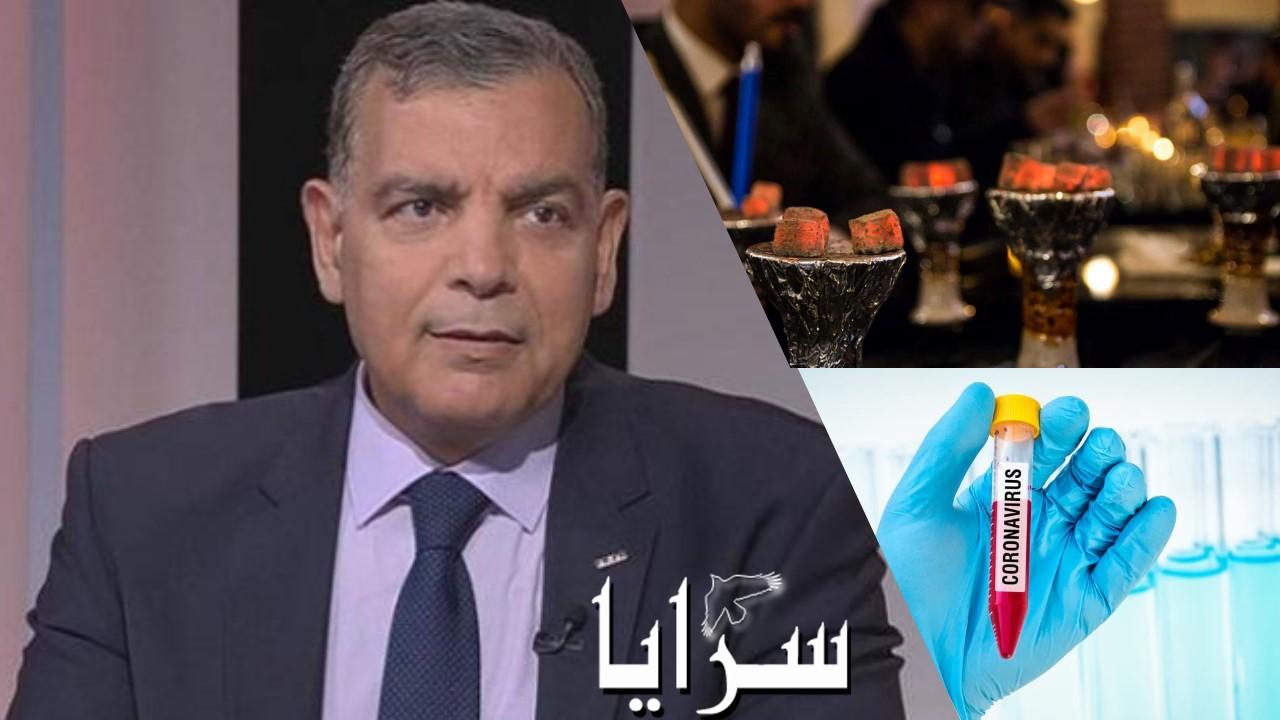 """وزير الصحة لـ""""سرايا"""": سنوقف """"الأرجيلة"""" في المقاهي بحال دخول الكورونا إلى الأردن"""