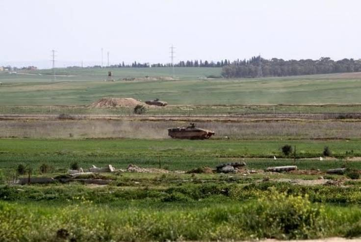 توغل محدود لآليات الاحتلال شرق البريج