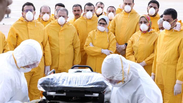 """وزيرة الصحة المصرية تحذر من وصول عدد المصابين بكورونا إلى ألف وتصف الأمر بـ""""الخطير جدا"""""""