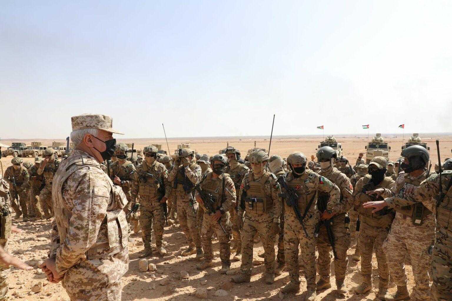 الحنيطي: القوات المسلحة قادرة على مواجهة أي تهديد ..  صور