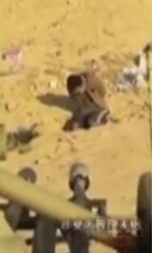 """بالفيديو .. لحظة إعدام وزير الدفاع الكوري بمدفع مضاد لـ""""الطائرات"""""""