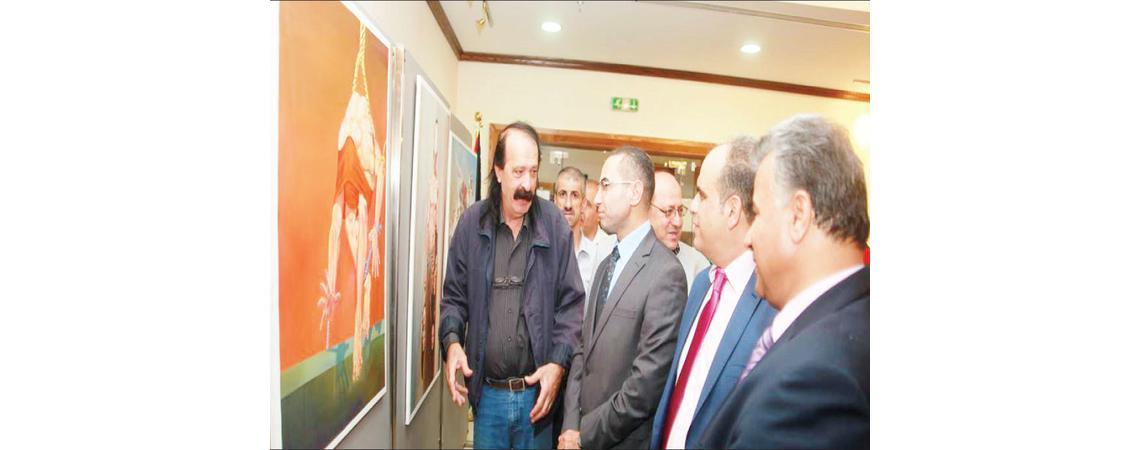 البراري يفتتح مهرجان الحصاد السابع للثقافة والفنون