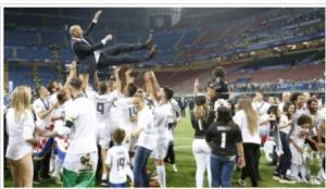 ريال مدريد بطلا للدوري الاسباني للمرة 33 في تاريخه