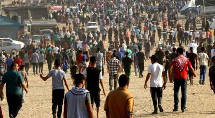 7 شهداء و252 إصابة بقمع الجمعة الـ 29 لمسيرات العودة