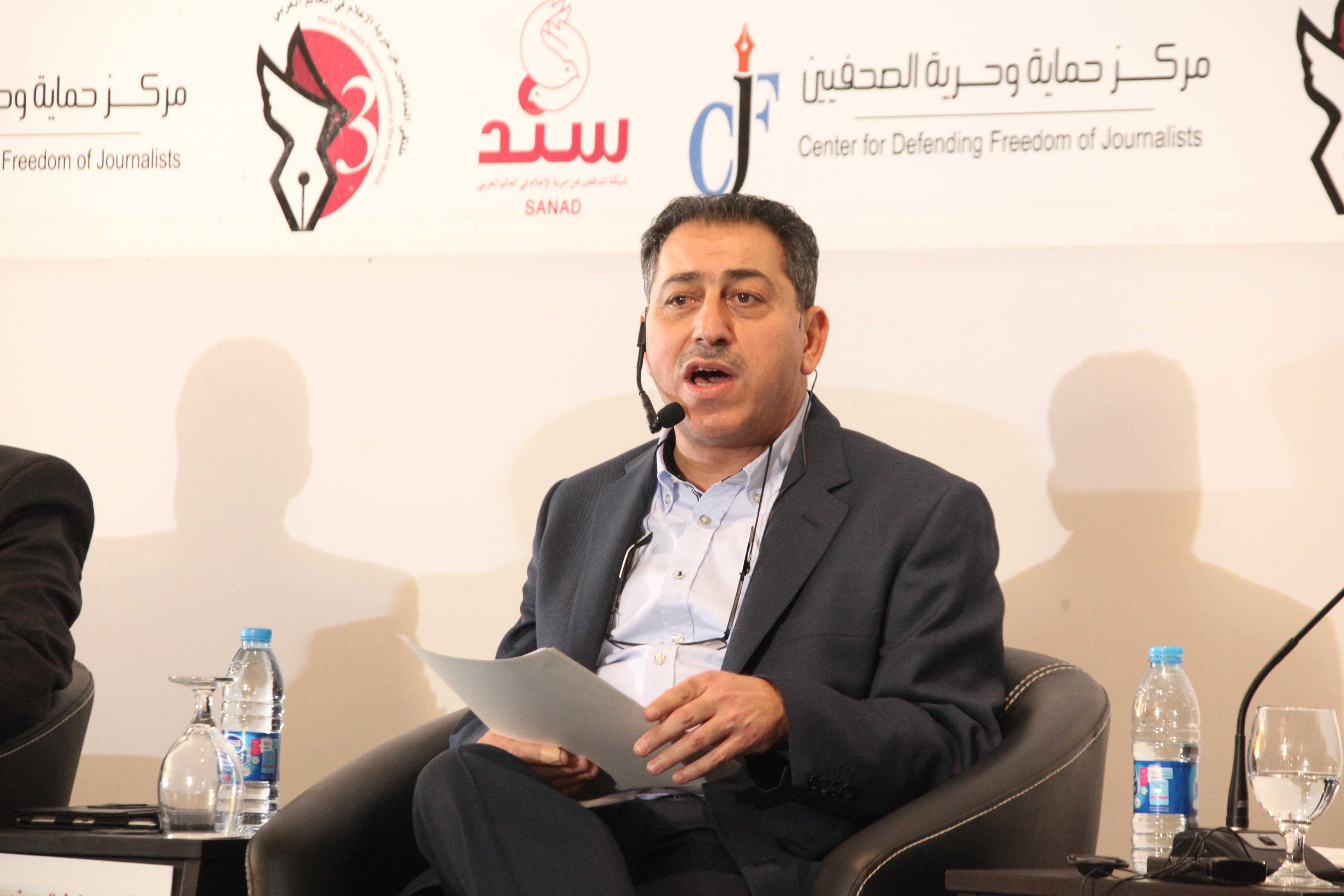 محكمة الاستئناف تبرئ مركز حماية وحرية الصحفيين ورئيسه التنفيذي