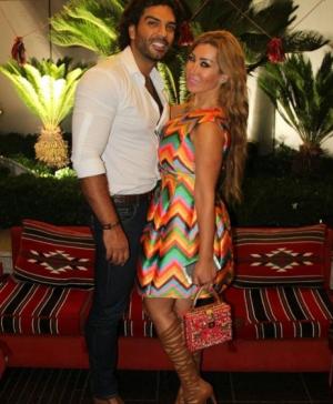 الفنانة نورهان وزوجها عدنان ديراني الى المستشفى على وجه السرعة