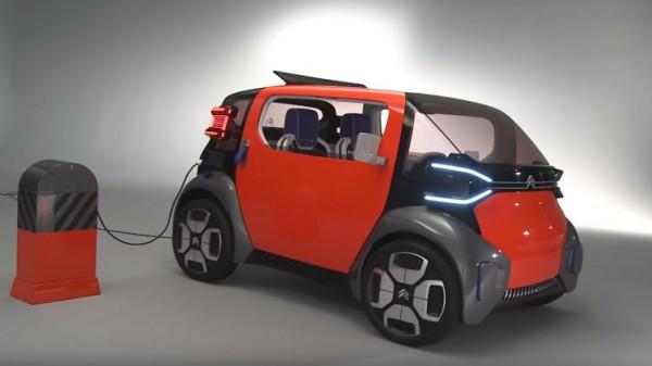 """بالصور \ (ستروين) الفرنسية تنوي عرض سياراتها الكهربائية """"Ami One"""""""