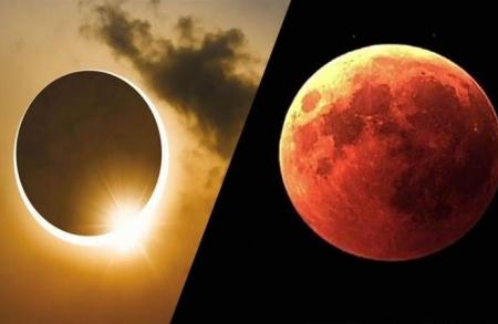 خسوف للقمر وكسوف للشمس بسماء المملكة الشهر المقبل
