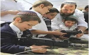 «إسرائيل» تدرب أطفال «الروضة» على القتل