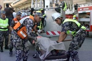 وفاة 3 اشخاص وإصابة 7 آخرين بحادث تصادم في عمان