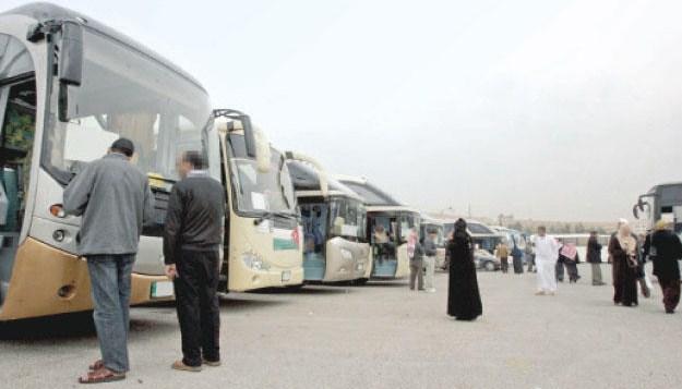 تعرف على الشروط الواجب توافرها بحافلات نقل الحجاج الاردنيين