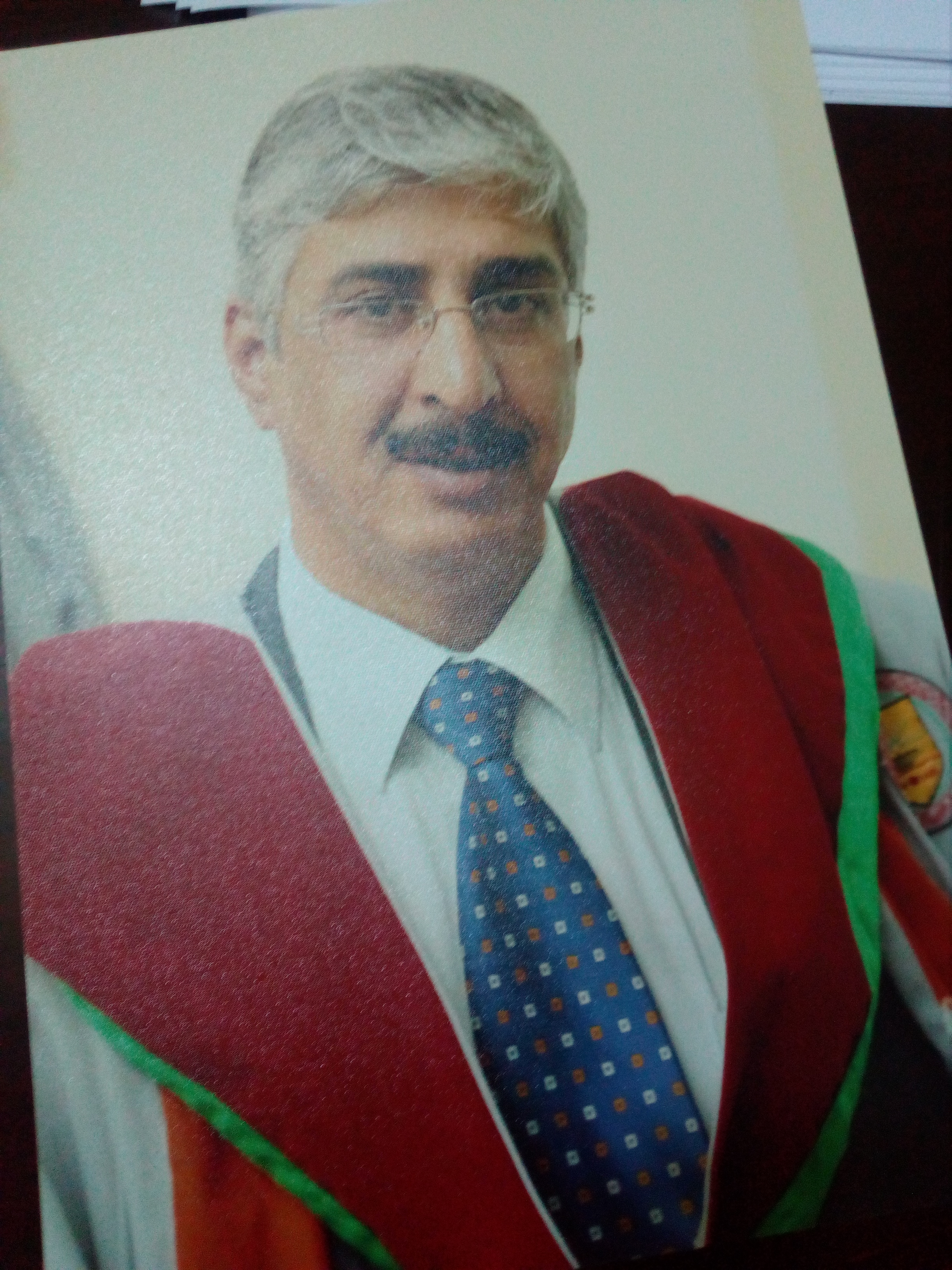 الدكتور صلاح الرقاد مبارك الترقية