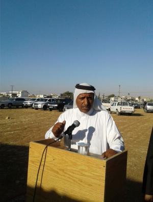 النائب السابق الشيخ محمد أبو الهيه يترشح عن مادبا