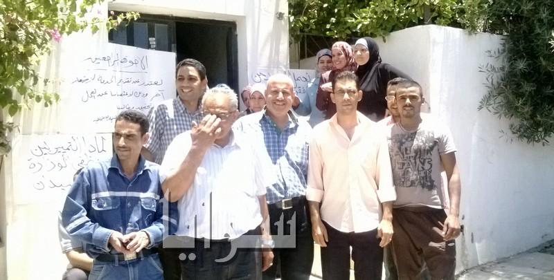 تعليق مؤقت لاعتصام موظفي تنمية البترا لتوزيع شيكات المكرمة الملكية