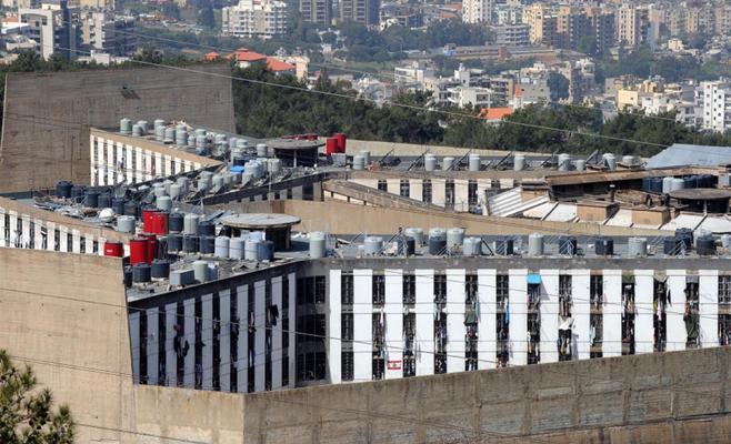 عملية أمنية في أكبر سجون لبنان