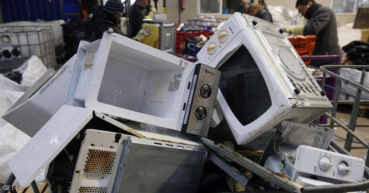 تحذير من تزايد النفايات الإلكترونية