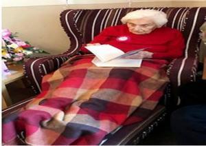 """لهذا السبب الغريب وصلت المعمرة """"بريندا"""" إلى 105 أعوام  ..  """"تفاصيل"""""""