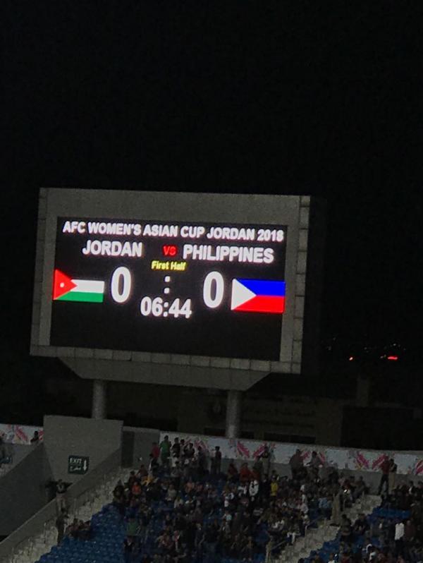النشميات يخسرن أمام الفلبين في افتتاح كأس آسيا للسيدات