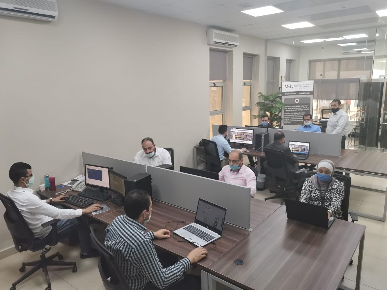 جامعة الشرق الأوسط تحقق تقدما متميزا في التصنيف العالميwebomatrix ranking university