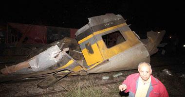 عشرات القتلى والجرحى بحادث قطار بمصر