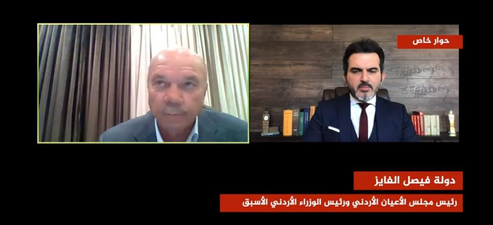 بالفيديو  ..  الفايز يتحدث عن التغيرات السياسية و الاقتصادية في العالم و الشرق الأوسط مابعد انتهاء جائحة كورونا
