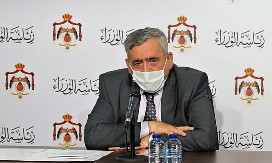 """وزير الصحة: قد نلجأ للحظر الجزئي ليوم أو يومين و لم نبحث عزل """"عمّان"""" عن المحافظات"""
