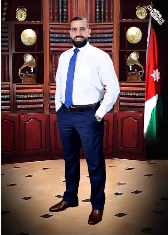 النقيب احمد سالم الربيحات   .. مبارك الدكتوراه